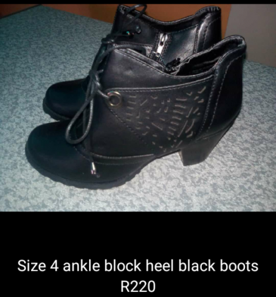 Brand New Size 4 and 5 Boots