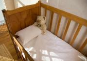 Baby White Bed Linen Range