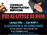 COMPANY REGISTRATIONS, SHELF COMPANIES-READY TO TRADE, accounting & TAX SERVICES
