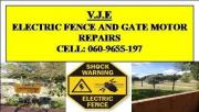 Electric fence and gate motor repairs