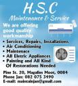 Hsc maintenance an repair