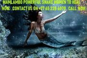 Mamlambo Lucky Snake And Successful Spells