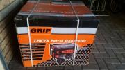 R1500 7.5kva generators for sale