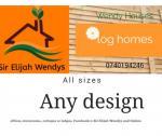 Sir Elijah Wendys and log homes