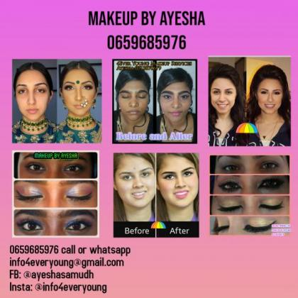 4Ever young beauty salon-BEAUTY BY AYESHA