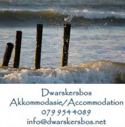 ~ Self Catering Accommodation ~ Dwarskersbos ~ Selfsorg Akkommodasie ~