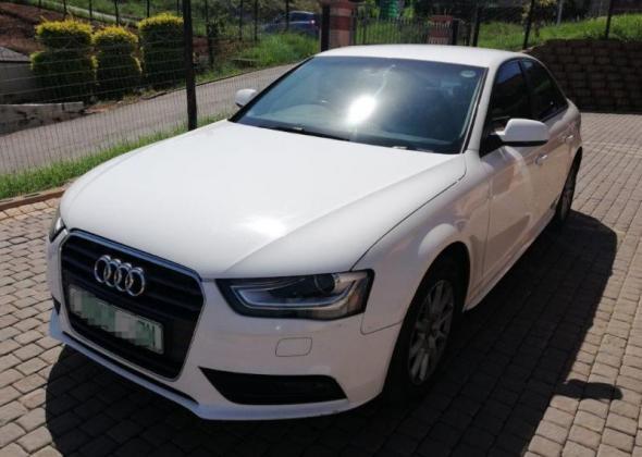 AUDI A4 1.8T - 2013 - WHITE