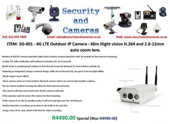 Latest LTE Cameras in Centurion, Gauteng