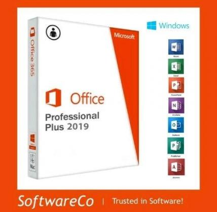 Microsoft Office ProPlus 2016/2019 - Lifetime Installed