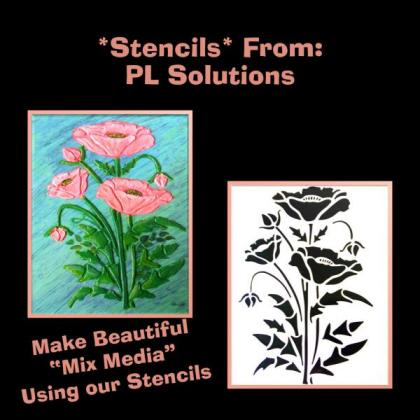 We manufacture large and small stencils