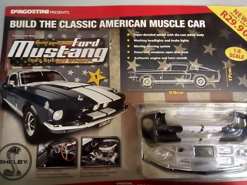 Build Your Own Mustang >> Build Your Own Ford Mustang 1967 Shelby Gt 500 1 8 Scale