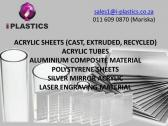 100% Virgin Cast Acrylic Sheets 2mm - 50mm