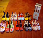 Girls mismatched shoes Size 11