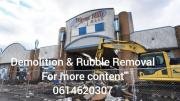 Rubble Removal & Demolition