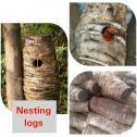 Sisal Nesting logs