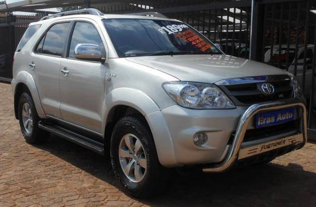 2007 Toyota Fortuner 4x4 4.0 V6 A/T in Pretoria, Gauteng