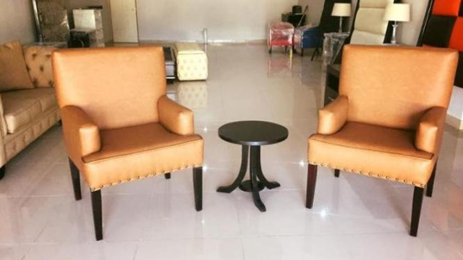 2 seater chair set