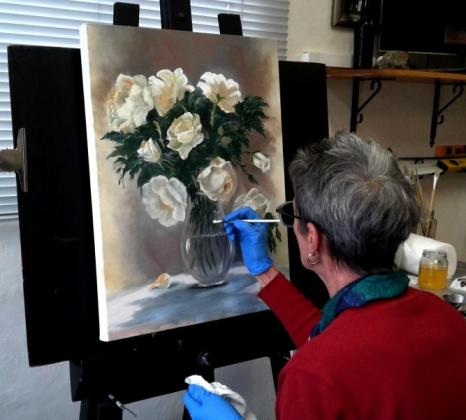 Art Classes for Adults Greenside Studio Oil Acrylics drawing 0720525466