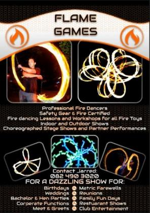 Flame Games Professional Fire Dancers