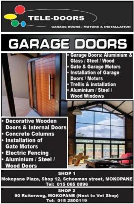 Garage Doors Motors & Installation
