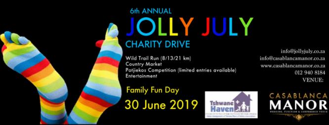 Jolly July Wild Trail Run 30 June 2019