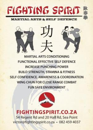 Martial Arts, Self Defence, Wing Chun Classes in Sea Point