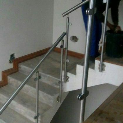 O.B.P   Glass and Stainless Steel Balustrading