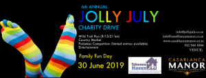 Jolly July Wild Trail Run 30 June 2019
