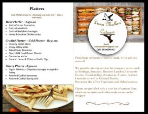 Lisna Mallard Catering- Business Conferences, C...