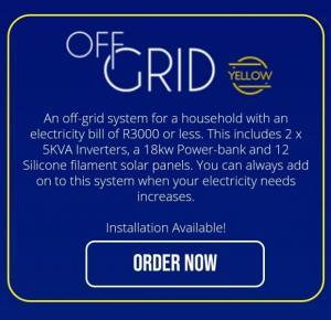OFF GRID / BACK UP / GEYSER SOLAR SYSTEM