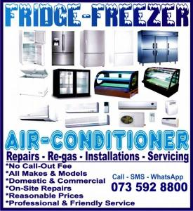 Cape Town Fridge, Freezer & Aircon Repairs