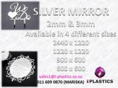2mm & 3mm Silver Mirror Acrylic