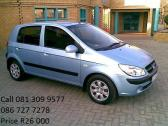 Hyundai getz for sale 1.6i