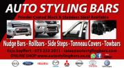 Nudges, Rollbars, Covers etc - FITMENTS Available - Specials
