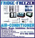 Cape Town Fridge, Freezer & Aircon Repairs