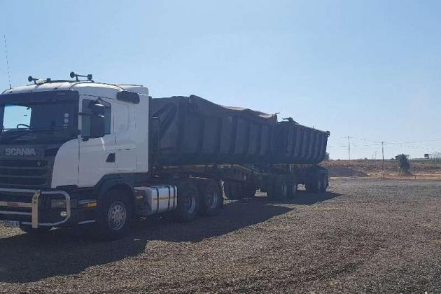 2013 Scania G460 Truck And 2007 Afrit Side Tipper Trailer for sale