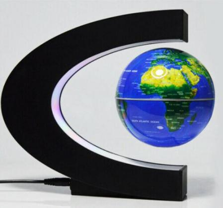 C Shaped Magnetic Levitation Floating Globe