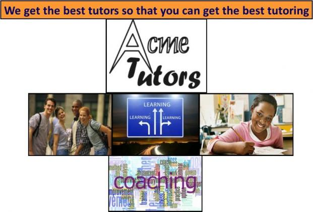 Does your son or daughter need help with Private One-On-One Tutoring lessons in your own home?