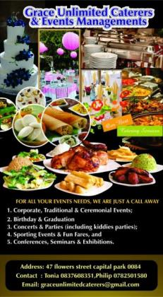 GRACE UNLIMITED CATERERS AND EVENT MANAGEMENT