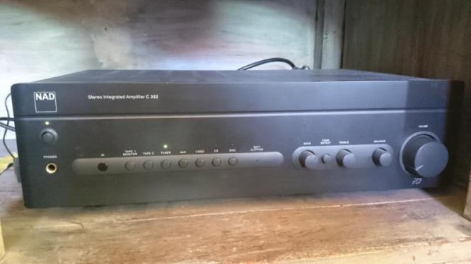 NAD C352 Integrated Amplifier For Sale