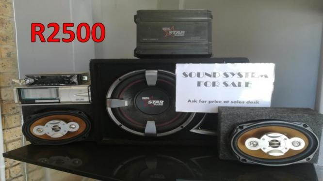R2500 for SOUND SYSTEM - DIGITAL STAR SOUND + RADIO & CD PLAYER