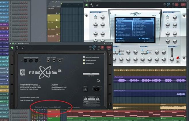 ReFX Nexus 2.2 bundled with SynthMaster and 16 GB soundset in Johannesburg, Gauteng