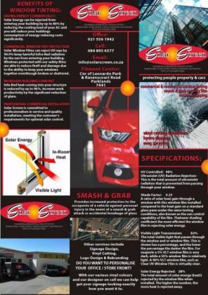 Smash & Grab - Window Tinting