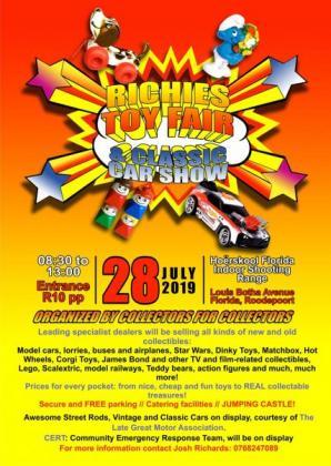 Richies Toy Fair in Emmarentia, Gauteng
