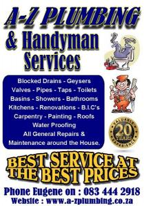 A-Z & Plumbing Services - Best Service at the B...