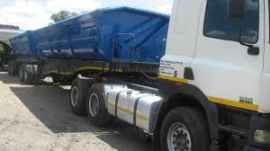 34 Ton side tipper truck for rent