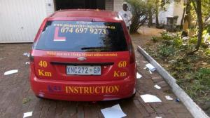 Pioneer driving school in Randburg, learners lessons, driving lessons and drivers licence test