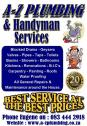 A-Z & Plumbing Services - Best Service at the Best Prices