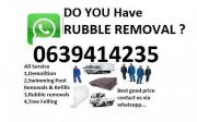 8 tipper truck rubble removal tlb for hire