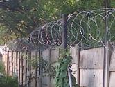 Razor/Barbwire fencing